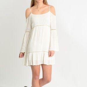 Patrons of Peace Dresses - Patrons of Peace Cold Shoulder Dress
